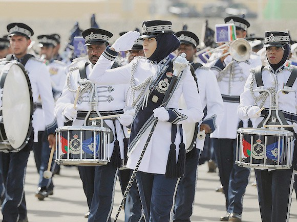 Oman Police Military Band, Armed forces Military bands