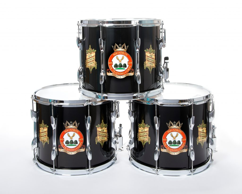 Custom Marching Band Drums