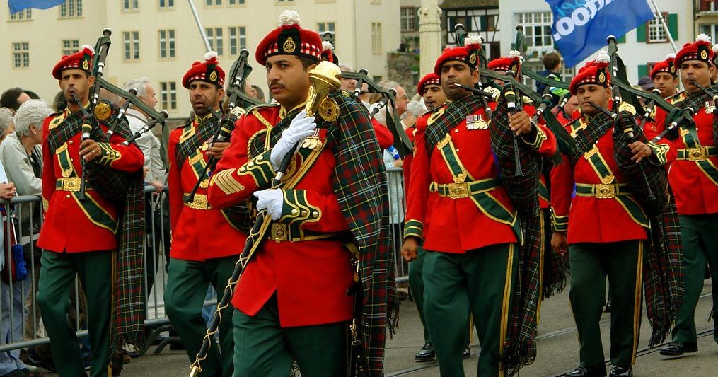 A history of military bagpipes | BBICO
