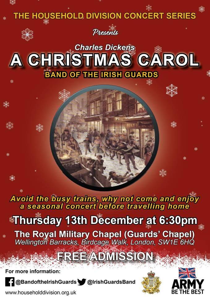 Irish Guards Band Charles Dickens