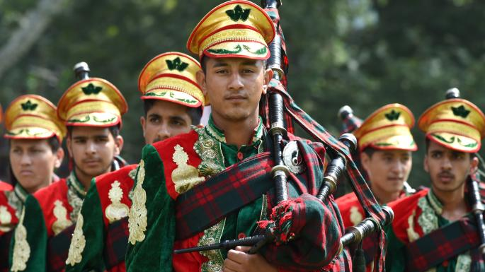 British Band Instrument Company Indian Army