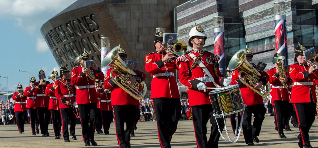 Image of Festival of Military Music - Cardiff Bay
