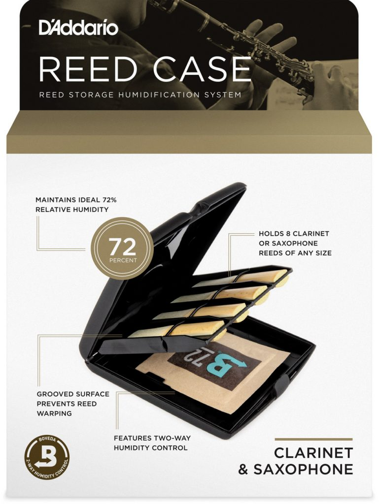 Reed Case by D'Addario