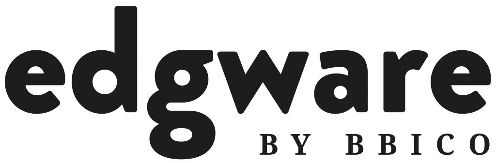 The edgware logo