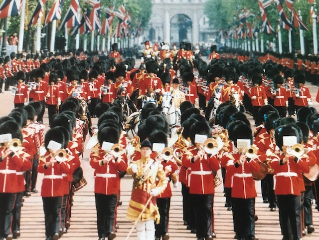 Welsh Guards Band (photo property of Clive Reeves)