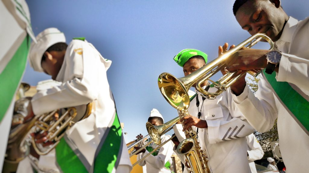 marching band in South Africa