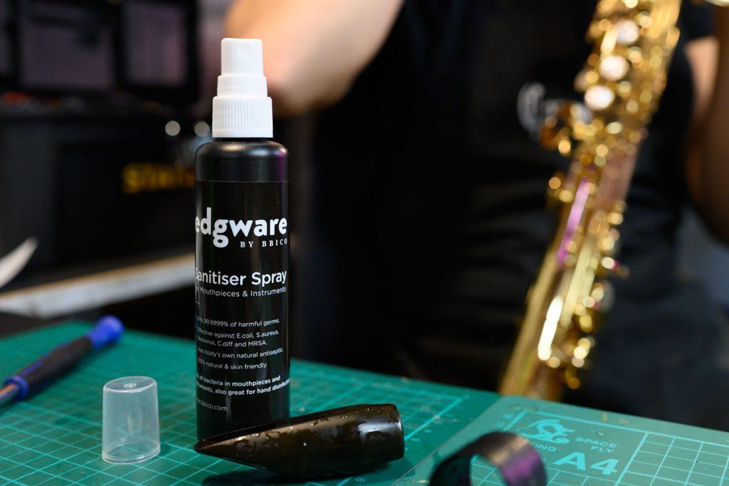 Edgware BY BBICO Sanitiser Spray at Dawkes Music