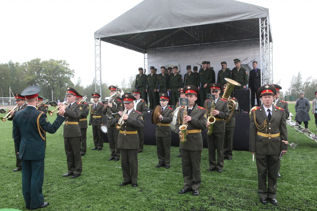The Military Medical Army Band at the 2016 International Army Games with Andrei Podolianets
