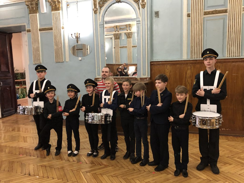 The Final Concert of the U Voznesenskogo mosta Corp of Drums in 2019 with Andrei Podolianets