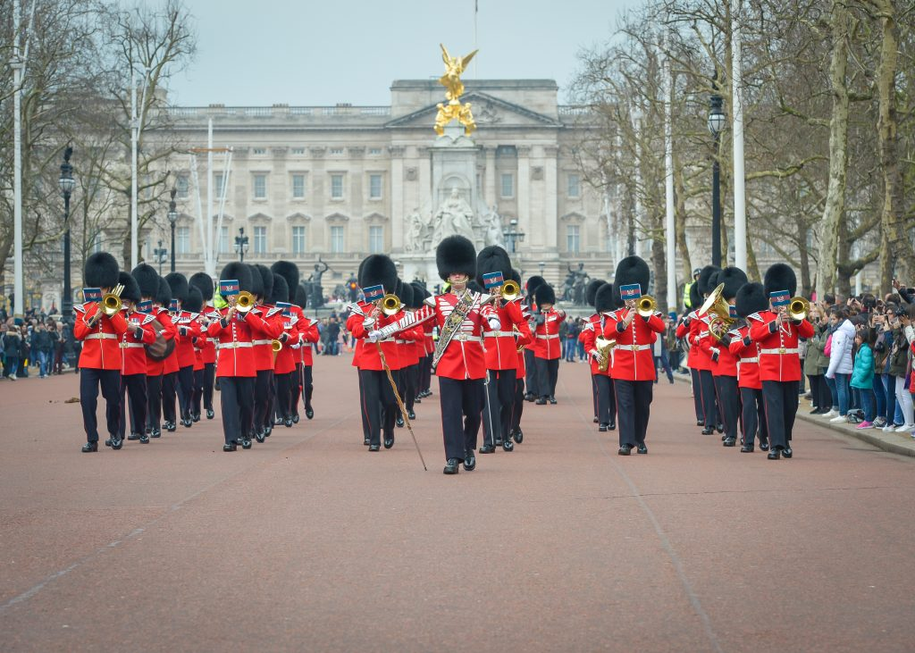 Honourable Artillery Company Band Changing the Guard (image by Adrian Snood)