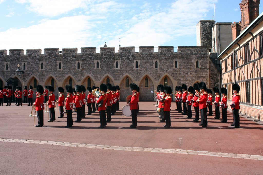 Army Musicians at Windsor Palace (Photo by Lorena Kelly on Unsplash)