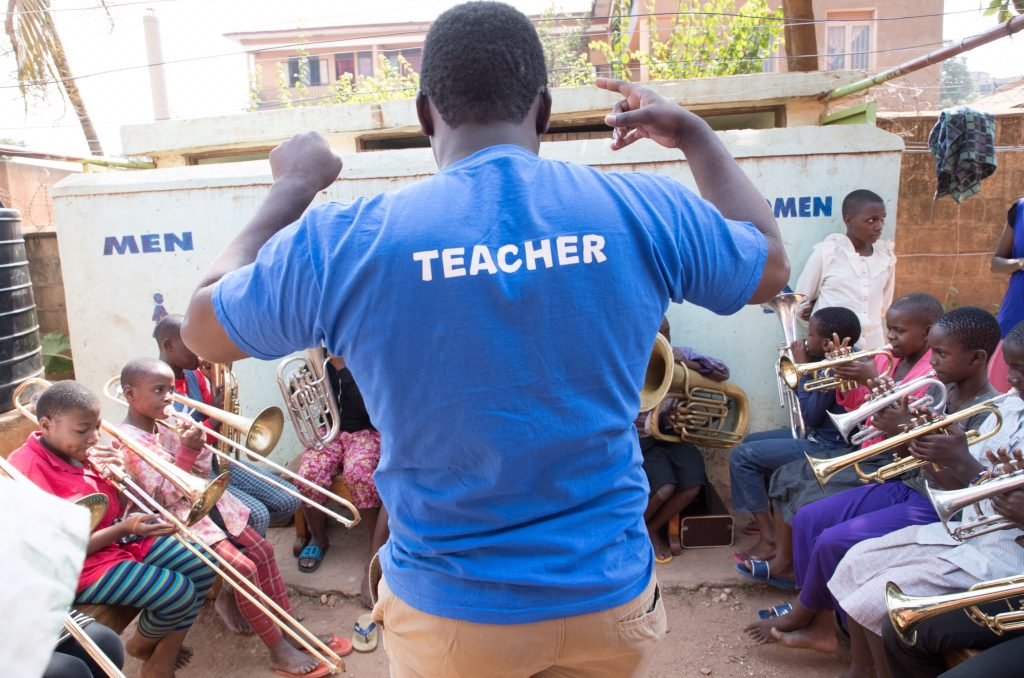A Brass for Africa Teacher