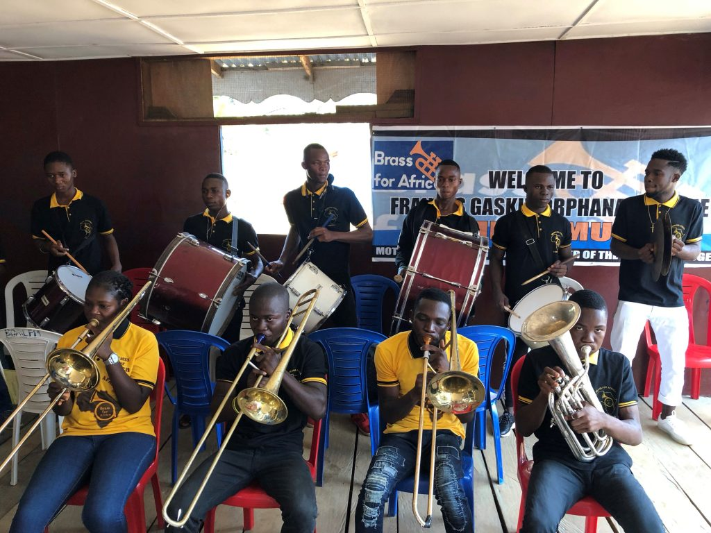 Brass for Africa in Liberia